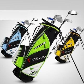 Bolsa De Golf Con Soporte | Rueda De Golf Soporte Estándar Caddy Carrito De Golf Bolsa De Trípode Cosas De Golf De Gran Capacidad De Almacenamiento De Carrito De Bolas Estándar D0646