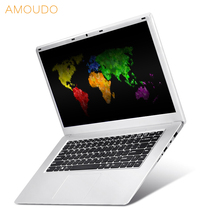 AMOUDO 15.6inch 1920X1080P FHD 6GB RAM+2000GB HDD Intel Apollo Lake N3450 Quad Core Windows 10 System Notebook Computer Laptop