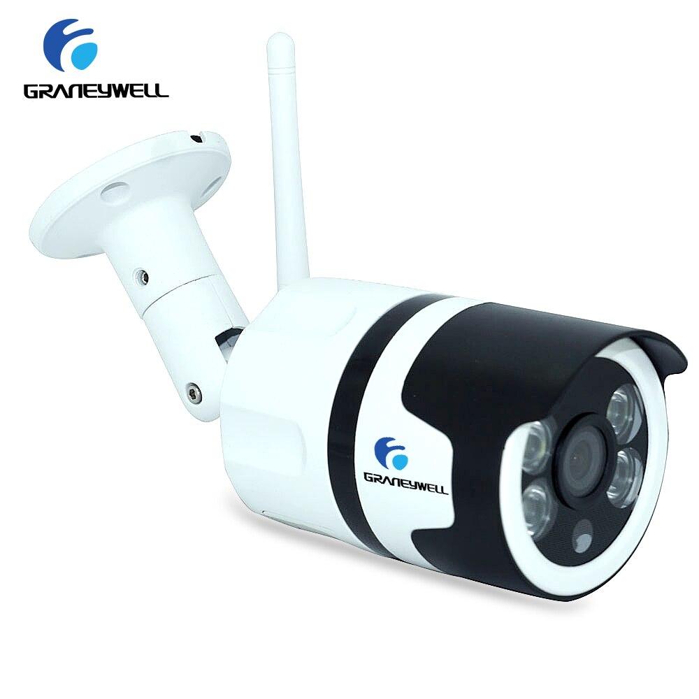 Wifi Outdoor IP Camera 1080 P 2.0MP Draadloze Beveiliging Camera Two Way Audio TF Card Record Smart P2P Waterdichte Bullet camera-in Beveiligingscamera´s van Veiligheid en bescherming op AliExpress - 11.11_Dubbel 11Vrijgezellendag 1