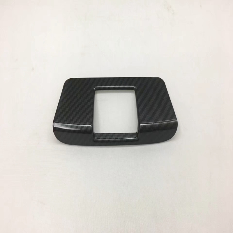 For Honda <font><b>CRV</b></font> CR-V 2017 <font><b>2018</b></font> ABS Carbon Fiber or Chrome Matte Rear Air AC Vent Outlet Cover Frame Inerior <font><b>Accessories</b></font> image