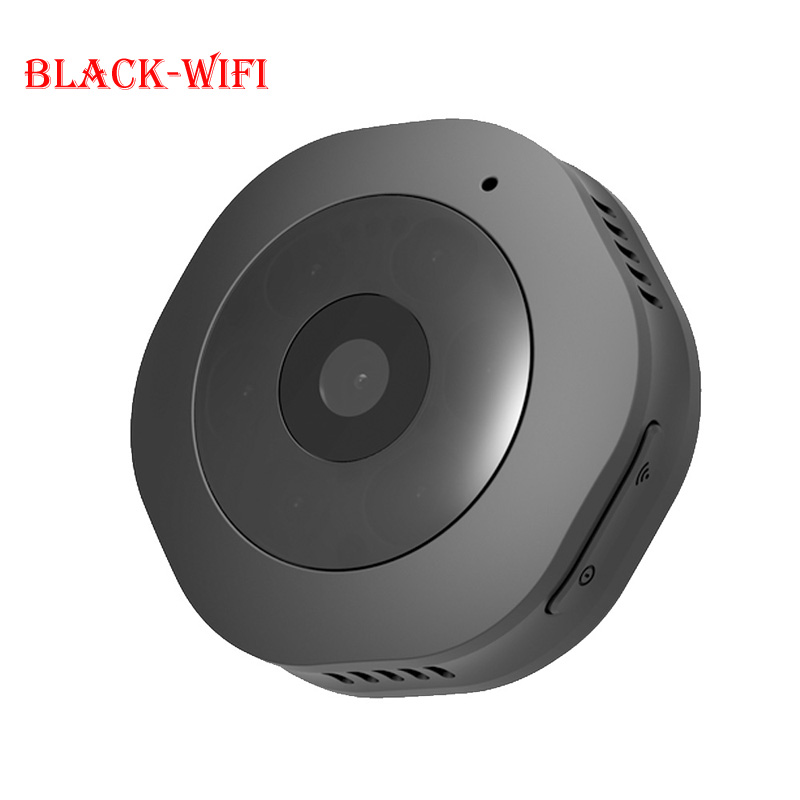 Спортивная камера Smarcent H6 для занятий спортом на открытом воздухе DV/wifi мини-камера wifi/DV 1080P микро портативная Магнитная портативная Невидимая камера - Цвет: Black-Wifi