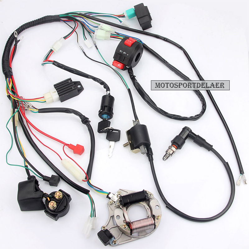 top 10 pit bike 125cc spark plugs ideas and get free ... Asive Wire Harness Wrap on