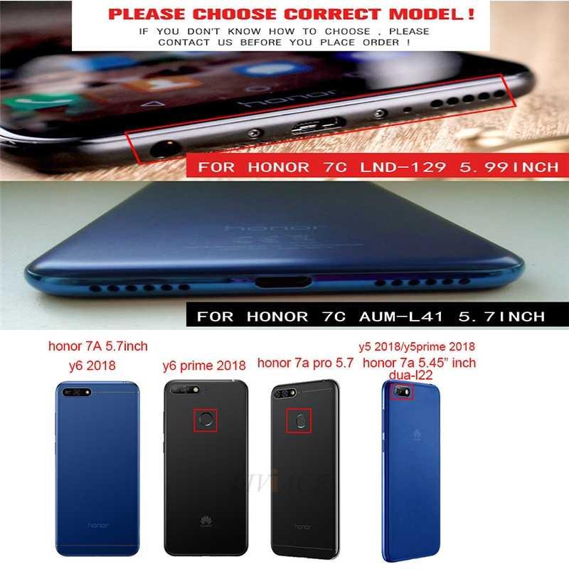 Matte Cassa Del Telefono Del Silicone per Huawei Honor Play 8x Max 8A 8C Vista 20 V20 8 9 10 Lite 7X7 S 7a 7c Pro V10 Copertura di Colore Della Caramella