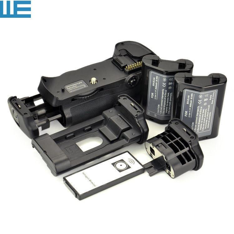 bilder für MB-D10 Batteriegriff + Ir-fernbedienung + 2X QUALITÄTS-EN-EL4 EN-EL4A Batterien + BL-3 Fachabdeckung für Nikon D300 D300s D700 SLR Kameras