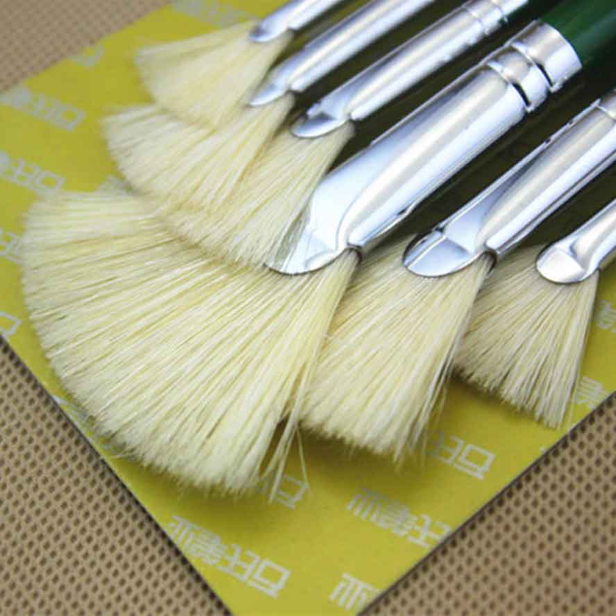 6pcs Paint brush watercolor acrylic painting brush Gouache Painting Brushes Art Supplies 1pc 96grid bag pen holder paint brush holder watercolor oil acrylic painting tool pencil case stationary art easel container