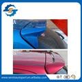 Venta caliente ABS Color de Imprimación Alerón Trasero Alerón de la Azotea Para Peugeot 206 Hatchback