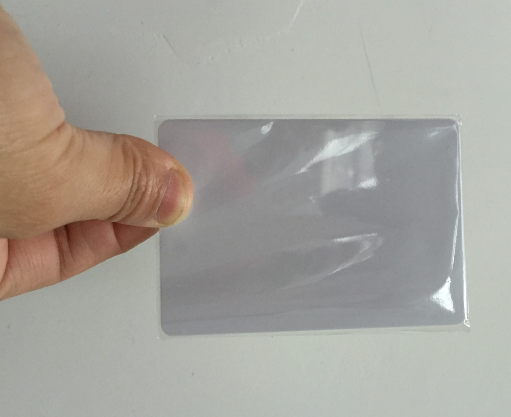 50pcs / box 13.56Mhz ISO14443A Re-writable Proximity Smart Card For Access Control System 100pcs rfid card 13 56mhz mfs50 re writable proximity smart card nfc card 0 8mm thin for access control system