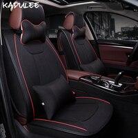KADULEE Universal car seat cover For suzuki grand vitara bmw x1 f48 subaru xv tucson 2017 vw Golf Passat B5 b6 auto accessories