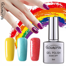 Gel Nail Polish New Attival Gouserva 79Colors  Gel Nail Polish 1pcs UV Nail Polish   Lasting longSoak Off Gel Lucky Art Manicure