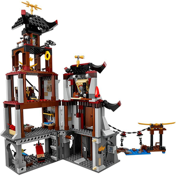 Ninja The Lighthouse Siege Sky Pirates Building Blocks Set Toys Compatible Ninjagos Figures Bricks Toys For Children 2
