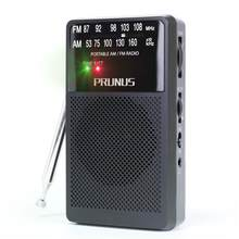 PRUNUS ANJAN-A166 Portable FM/AM DSP Radio with Ultra-Long Copper Antenna,Excellent Reception,Tuning Knob with Signal Indicator.(China)