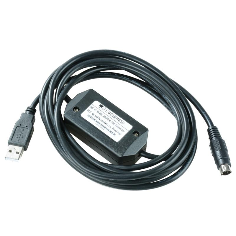 все цены на  TSXCRJMD25 + TSXCUSB485 Programming Cable Replace TSXPCX3030 For Schneider Micro Premium Twido PLC HMI RJ45, FAST DELIVERY  онлайн