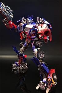 Image 4 - קומיקס מועדון INSTOCK BMB LS03F OP מפקד שינוי סרט MPM04 MPM 04 Oversize סגסוגת שרירים Diecast דמות רובוט צעצועים
