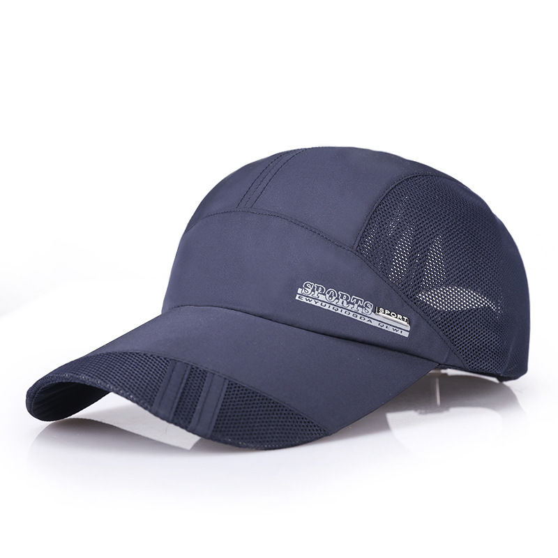 70080eb53d0 men women Golf ball cap breathable Adjustable size male outdoor sport  running hat sun-shading sunscreen peaked cap free shipping