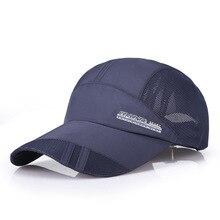 c408866ef68 men women Golf ball cap breathable Adjustable size male outdoor sport  running hat sun-shading