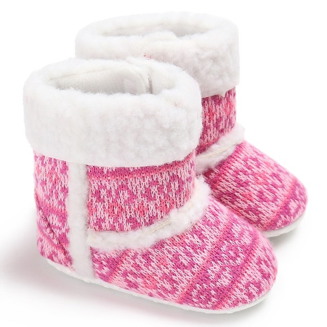 2c3067121419 2017 Winter Newborn Baby Girl Warm Soft Bottom Baby Winter Shoes Non Slip  Winter Boots Baby Snow Boot Christmas Gifts