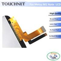 Meizu M1 Note LCD Screen 100 Original LCD Display Digitizer Touch Screen Assembly For Meizu M1