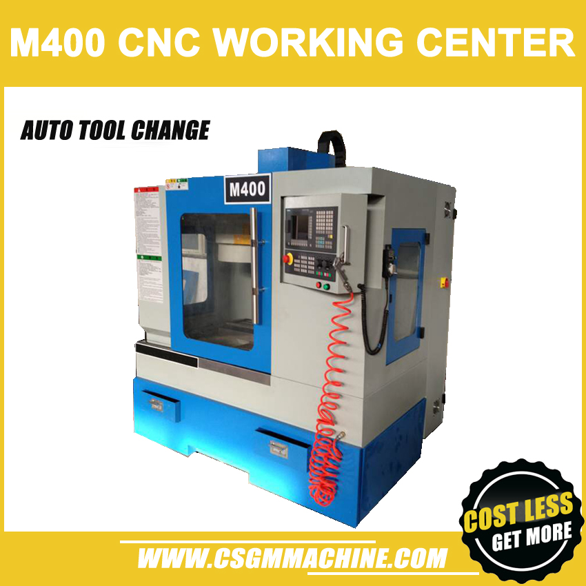 M400 CNC Drill&Mill Machine/Auto Tool Change CNC center/2200W CNC Machine/TT/Factory directly selling agent/Delivery by Ocean