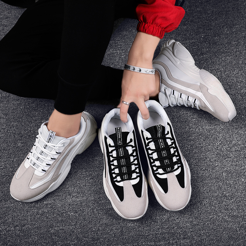 Official Genuine Men Sneakers Skateboarding Track Shoes Triple S Professional Wearable Nyfw Shoes 95 Trainers 97 Max Size 44(China)