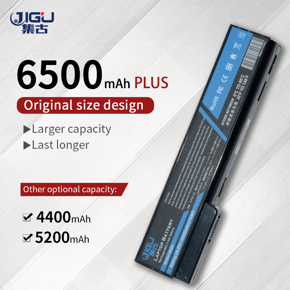 JIGU Laptop <font><b>Battery</b></font> For HP EliteBook 8460p 8470p 8560p 8460w 8470w <font><b>8570p</b></font> ProBook 6460b 6470b 6560b 6570b 6360b 6465b 6475b 6565b image