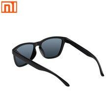 2020 Xiaomi gözlük Mijia klasik çerçeve güneş gözlüğü sürücü erkekler ve kadınlar seyahat mi gözlük UV koruma açık vidasız tasarım