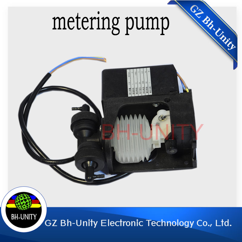 best price!!Orignal new eco solvent printer Myjet ink pump 24 V for xaar 128 printer liquid pump spare parts best price brand new for highscreen