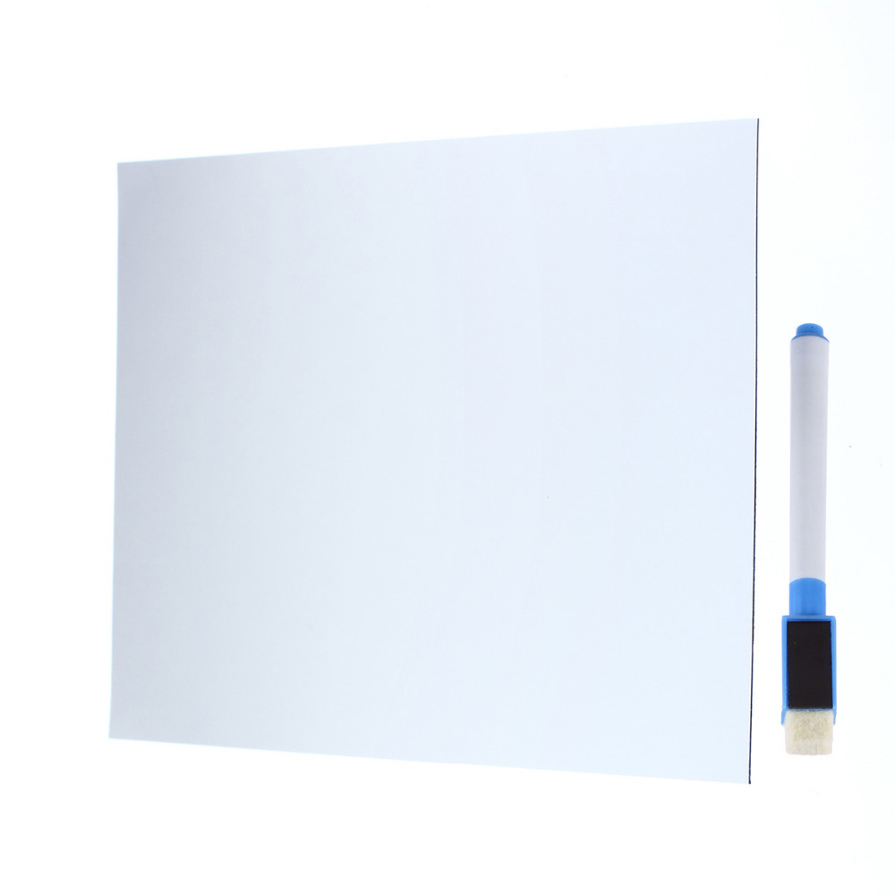 Whiteboard Writing Board Magnetic Writing Board Fridge Writing Board Removable Whiteboard Home Decoration Message Board/Memo Pad
