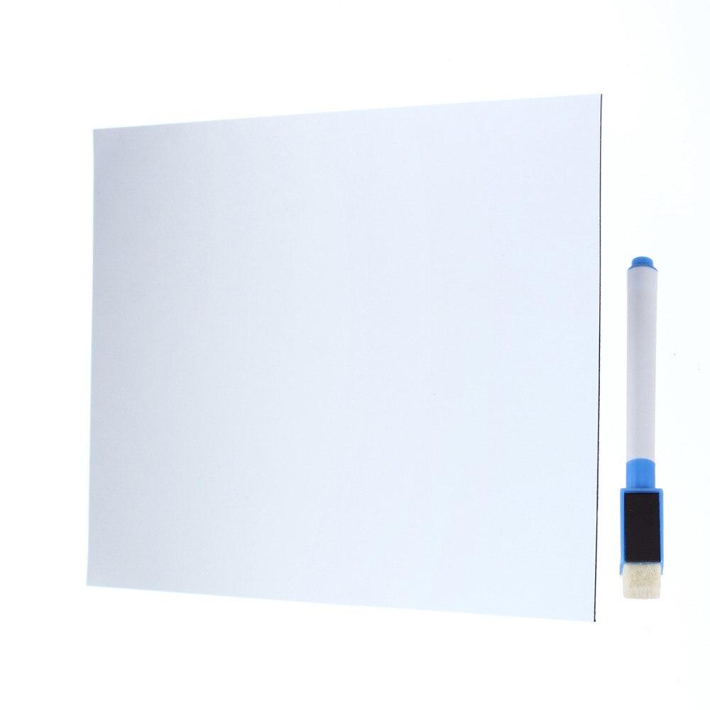 Whiteboard schreibtafel magnetischen schreibtafel kühlschrank schreibtafel Abnehmbare Whiteboard Dekoration nachricht board/Memo Pad