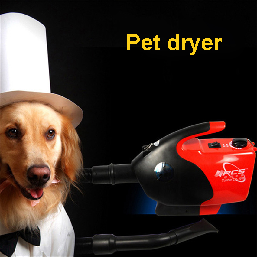 Pet Blower / Pet Dryer / Dog Grooming Dryer / Pet Blower for Lower Noise Dryer ABS environmental protection plastic  2017 new 5 in 1 sets brand cheap dog grooming dryer cheap pet hair dryer blower 220v 110v 2400w eu plug pink blue color