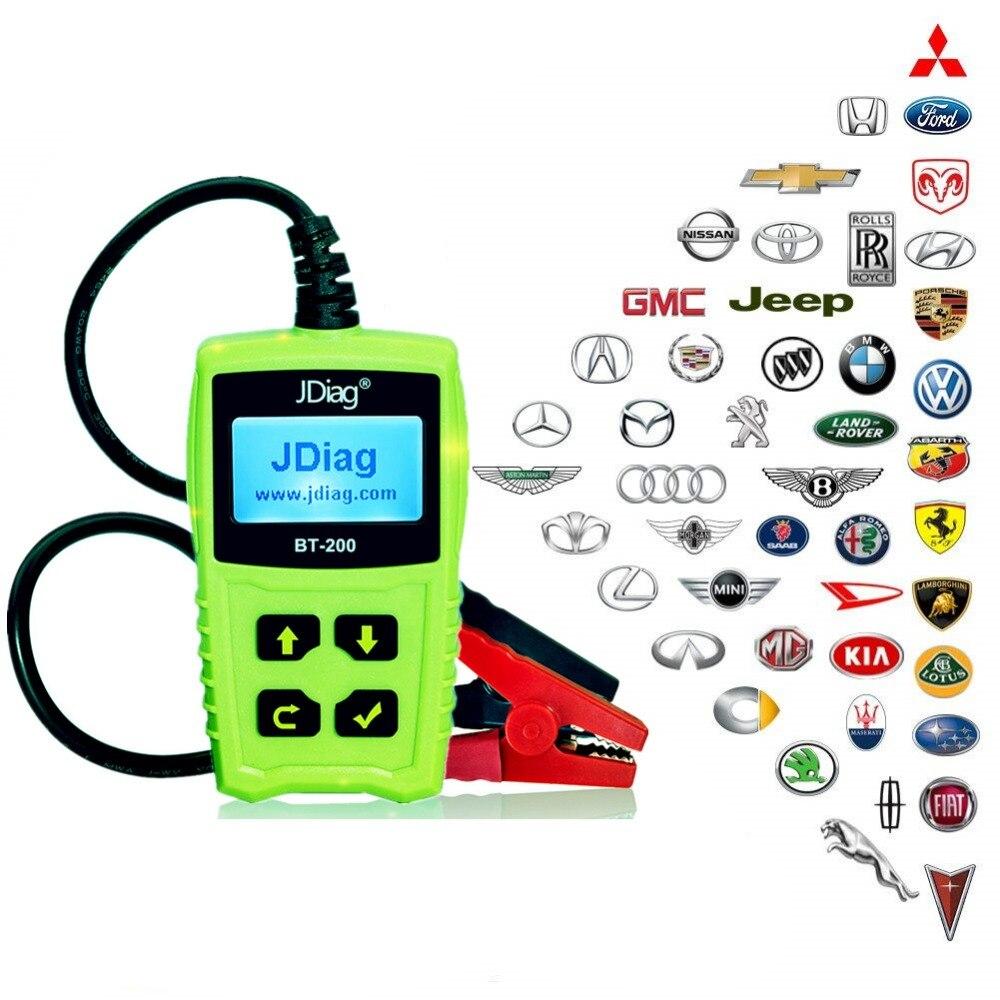 12V Digital Vehicle Car Auto Battery Tester Automotive Car Accumulator Battery C