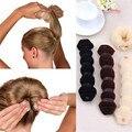 1 Unids Señoras de Las Mujeres del Estilo de Magia Hair Styling Curling Herramientas Braiders Bollos Headwear Cuerda de Pelo Banda de Pelo Accesorios
