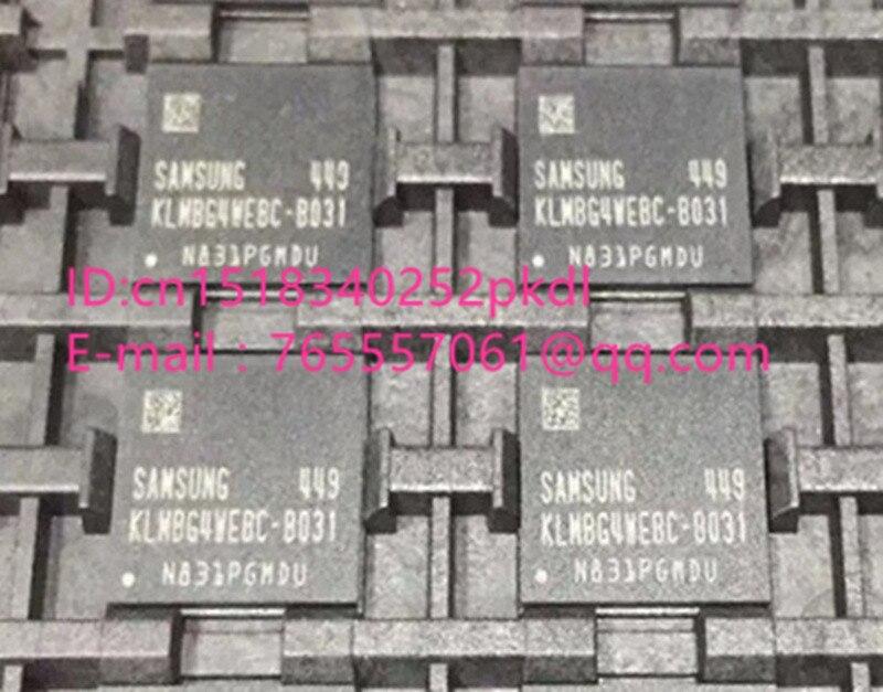 (1PCS) (2PCS) (5PCS) (10PCS)  100%  new original   KLMBG4WEBC-B031  BGA  EMMC 32GB memory chip   KLMBG4WEBC B031 1pcs 2pcs 5pcs 10pcs 100% new original kmr310001m b611 bga memory chip