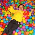 HOT New Ecológico Belleza Océano Piscina de Bolas De Plástico de Color de Mezcla Suave Ronda de Bolas Piscina de Bolas Para Niños Divertidos 5.5 cm 50 UNIDS
