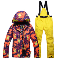 NEW Skiing suits Jackets women men Snowboarding Sets winter Sportswear snow ski jacket Breathable Waterproof Waterproof