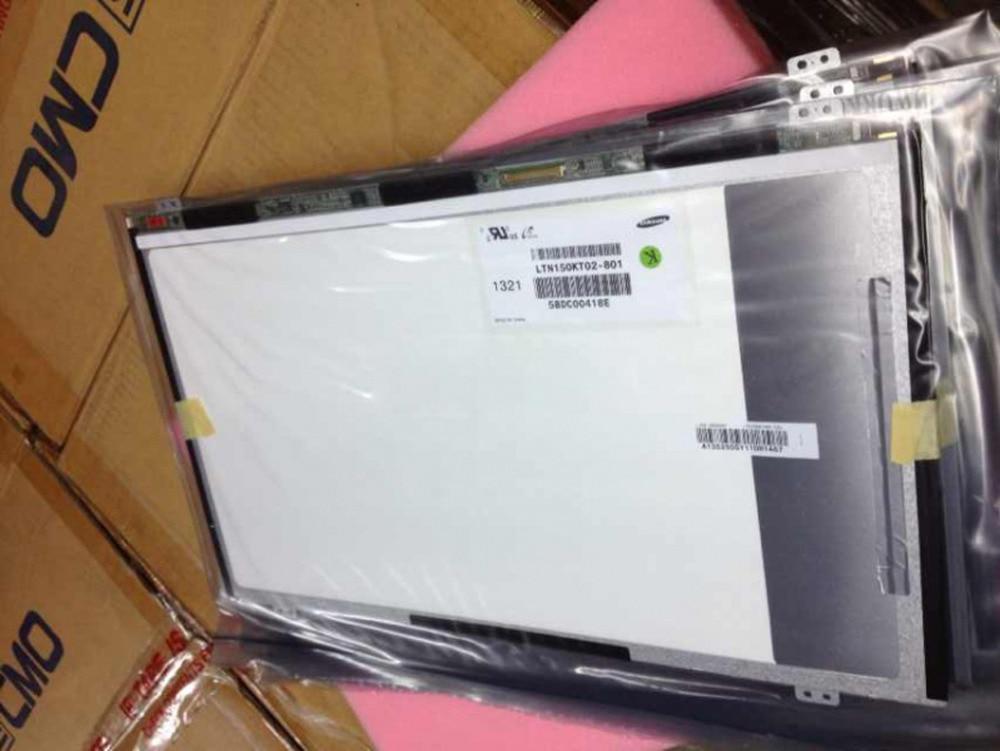 Quying  FOR samsung matrix LTN150KT02-801 15 inch 40 pin Laptop LCD LED SCREEN LTN150KT02
