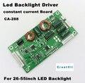 CA-288 26 polegada-55 polegada TV LED placa de corrente Constante, LED TV universal inverter, LED TV placa de motorista backlight
