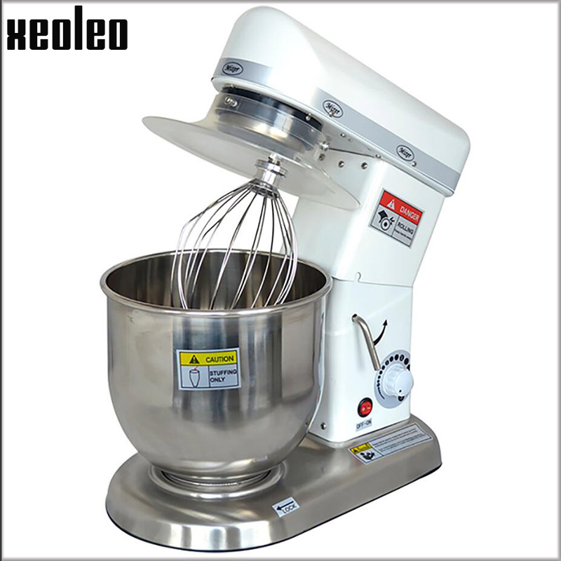 XEOLEO 10/7/5L Stainless steel Food mixer Commercial Stand mixer 500W Dough kneading machine Table Dough mixer ElectricWire Whip new premium high quality stainless steel commercial dough ball making machine automatic dough divider rounder for small business