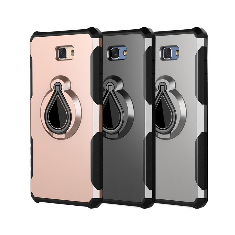 2 In 1 Phone Cases For Samsung Galaxy J7 Prime 2017 Case Protective Bumper Cover For Samsung J7 Prime 2017 Case in Fitted Cases from Cellphones Telecommunications