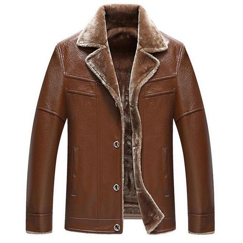 vestes brown faux en qualit cuir fourrure veste black. Black Bedroom Furniture Sets. Home Design Ideas