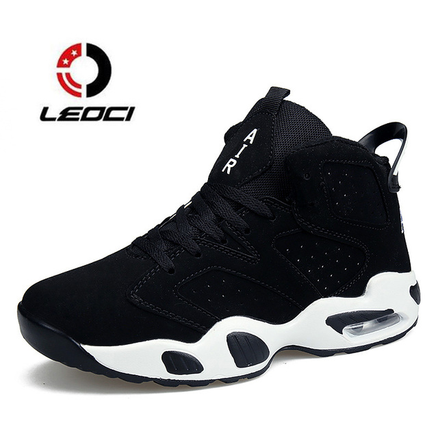 Unisex Trainers Basketball Shoes Men Women Air Cushion Sneakers High