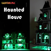 LIGHTAILING LED Light Up Kit For City Monster Fighter Haunted House Building Model Light Set Compatible