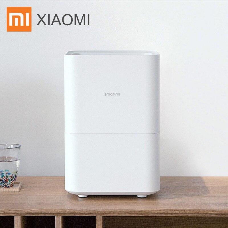 Xiaomi Smartmi humidificateur d'air 2 assainisseur d'air pour chambre à coucher évaporateur Type sans brouillard Non poudre diffuseur d'huile essentielle