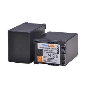 Image 5 - 3 шт., 2900 мАч BP 828 BP828 BP 820 литий ионный аккумулятор + зарядное устройство USB для Canon VIXIA GX10,HF G30,HF G40,XA11,XA15,XA20,XA25,XA30,XA35
