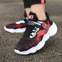 spiderman kids shoes running and sport sneakers boys,spring childrens casual breathable school