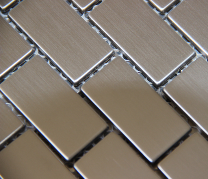 classical brick sqaure stainless steel metal mosaic tile kitchen backsplash bathroom shower background interior wallpaper tiles rose gold stainless steel metal mosaic glass tile kitchen backsplash bathroom background decorative art mosaic wall tile sa073 9