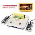 De alta calidad reproductor de TV juego Retro clásicos juegos 400 juegos play card + tarjeta original dos card game console entrega gratuita