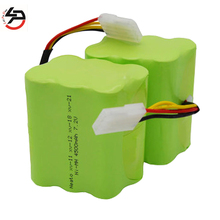 LPD 2pcs 7.2V 4500MAH Ni-MH Battery Pack For Neato XV-11 12 14 15 21 28 robot robotic vacuum cleaner accessory xv battery