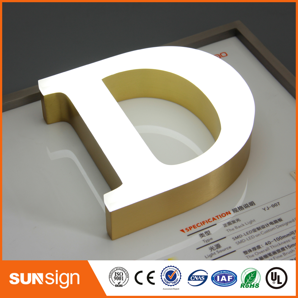 China Sign Maker LED  Neon Lighted Advertising Signs