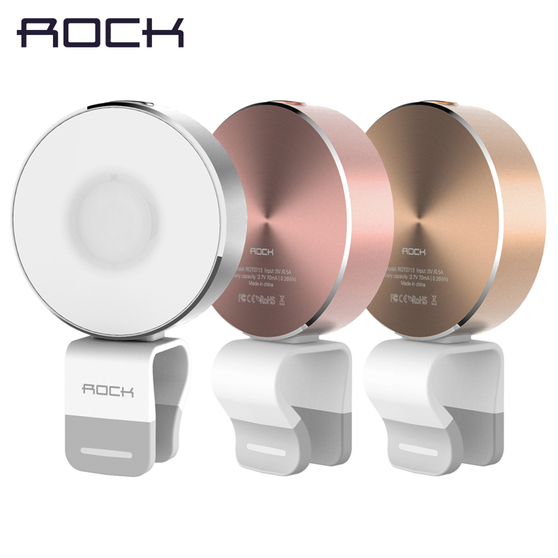 bilder für Rock omi telefon flash selfie licht, LED-licht-kompensation lampe, Metalllegierung kamera taschenlampe