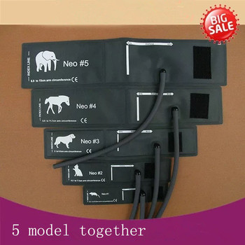 all size elephant horse dog cat and mouse veterinary blood pressure cuff of patient monitor for small animals with single tube